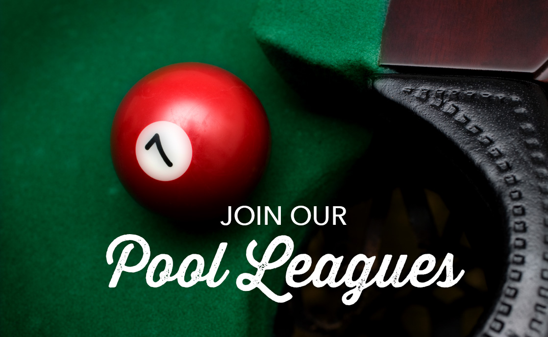 Sign-up for the Fall pool league!